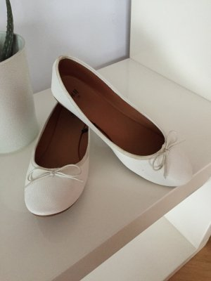H&M Ballerinas white