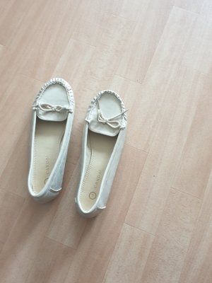 C&A Ballerinas with Toecap gold-colored-oatmeal