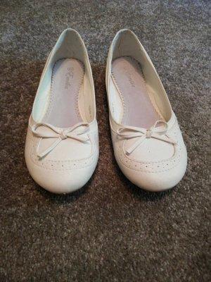 Mary Jane Ballerinas white