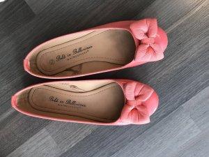 Primark Patent Leather Ballerinas salmon