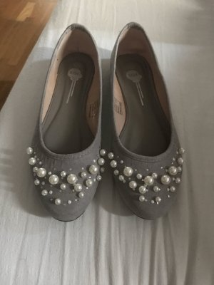 Ballerinas grey-light grey