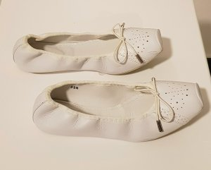 Hogan Ballerinas white