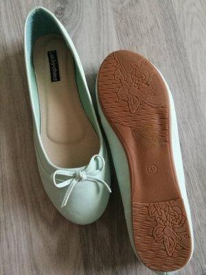 Ballerinas lime-green