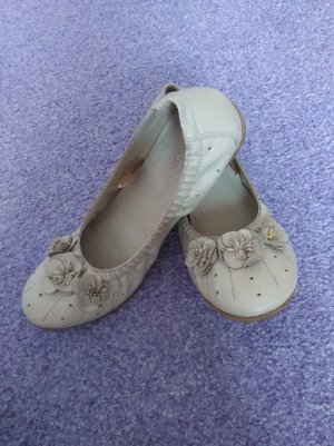 Ariane Foldable Ballet Flats oatmeal-beige