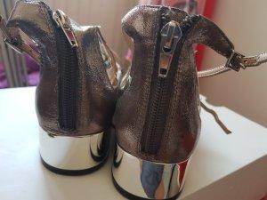 Aldo Ballerines à lacets argenté-gris anthracite