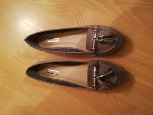 Slingback Ballerinas grey