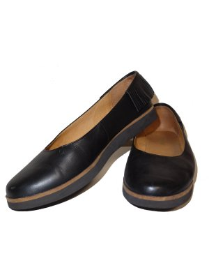 Flip*flop Ballerinas black leather