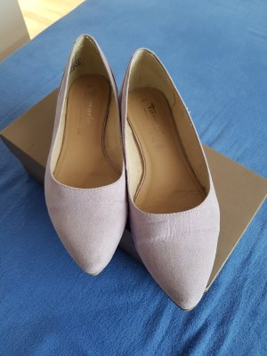 Tamaris Ballerinas with Toecap mauve leather