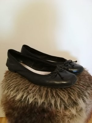 s.Oliver Patent Leather Ballerinas black