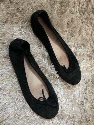 Ballerinas aus Leder (39)