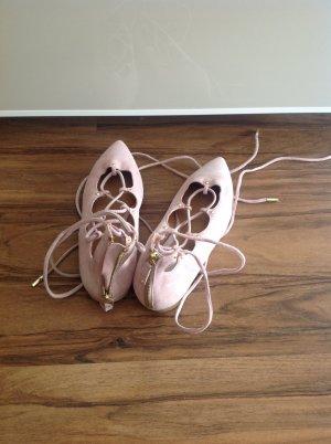 H&M Ballerinas rose-gold-coloured
