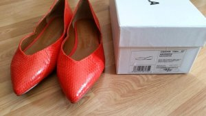 Bimba & Lola Ballerinas with Toecap orange-light orange leather