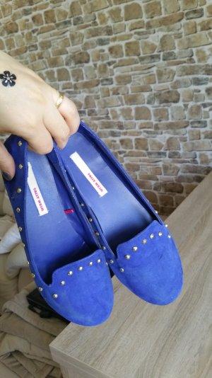 ballerinas blau gr 37 mit nieten