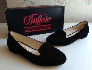 Buffalo Ballerines noir