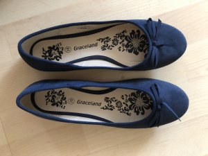 Graceland Mary Jane Ballerinas dark blue