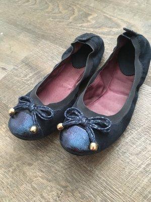 Ballerinas dunkelblau