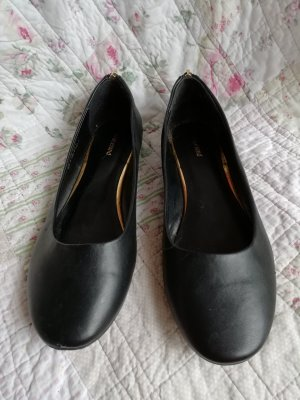 Deichmann Mary Jane Ballerinas black-gold-colored