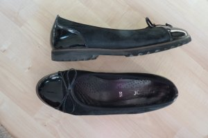 Gabor Patent Leather Ballerinas black