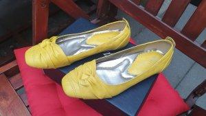 Slingback Ballerinas multicolored imitation leather