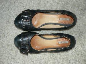 Ballerinas Geox Leder schwarz