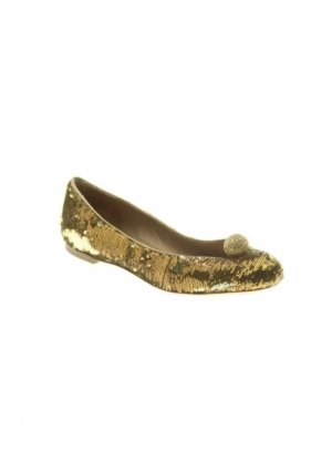 ballerinas Gold von emporio Armani gr. 39