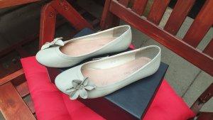 Slingback Ballerinas silver-colored-light grey