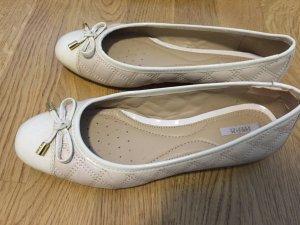 Ballerinas Größe 37 in cremeweiß von Geox - fast nicht getragen