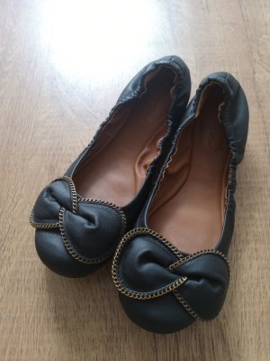 See by Chloé Foldable Ballet Flats black leather