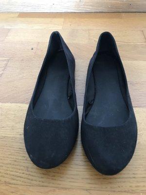 H&M Bailarinas negro