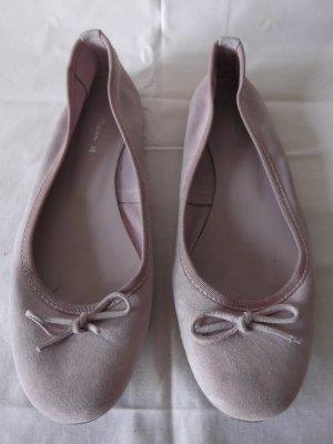 Slingback ballerina's rosé Gemengd weefsel