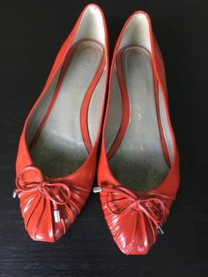 Ballerinas in einem tollen roten Ton von Geox