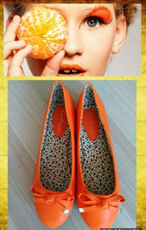 Ballerinas orange