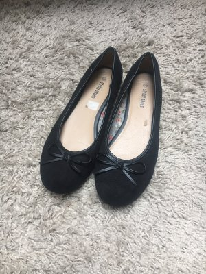 Street Mary Jane Ballerinas black
