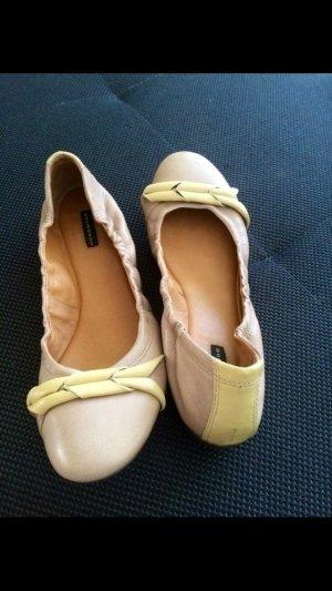 Ballerinas (Leder) Bellmondo