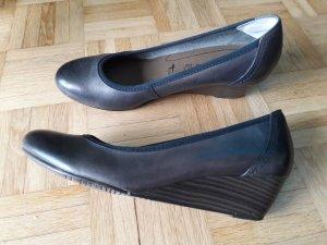 Tamaris Mary Jane Ballerinas dark blue imitation leather