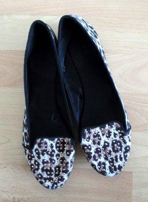 Ballerinas mit Leopardenprint