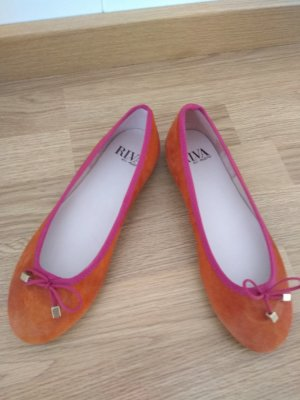 Ballerines Mary Jane orange-rose