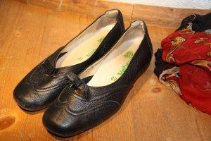 Ballerinas mit Schleife von Natural Feet schwarz