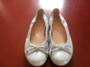 Ballerinas neuwertig in hellblau - weiches Leder