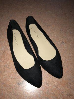 Ballerinas New Look Gr. 38, schwarz