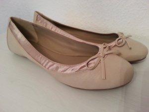 Ballerinas nude Gr.38 Neu! Asos Fashionista Blogger Must Have Satin pretty