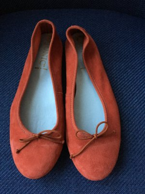 Mary Jane Ballerinas orange