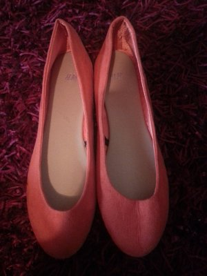 H&M Ballerines pliables orange synthétique