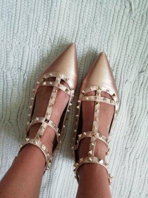 Ballerinas rosé gold