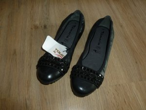 Tamaris Patent Leather Ballerinas black