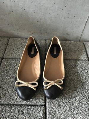 Ballerinas schwarz Massimo Dutti Gr. 41