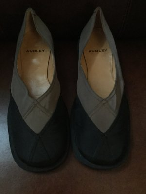 Audley Ballerinas black-bronze-colored