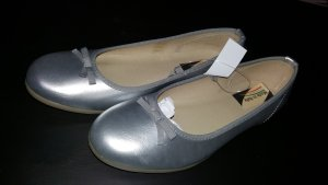 Esmara Patent Leather Ballerinas silver-colored