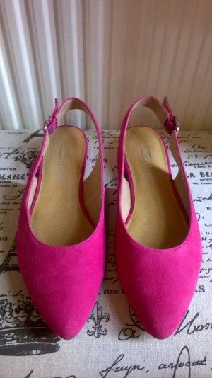 5th Avenue Slingback Ballerinas multicolored leather