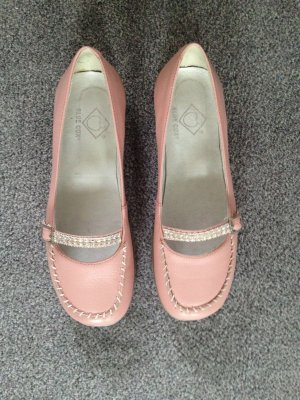 Ballerinas/Slipper rosa mit Strasssteinen Gr. 37 (passt auch 38) Blue Cox